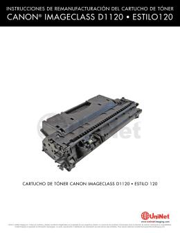 CANON® IMAGECLASS D1120 • ESTILO120