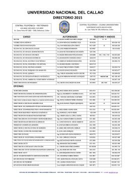 DIRECTORIO DE LA UNAC 2015-CORREGIDO222