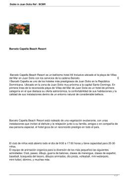 Doble in Juan Dolio Ref : BCBR