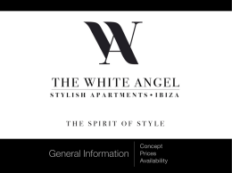 General Information - The White Angel Ibiza