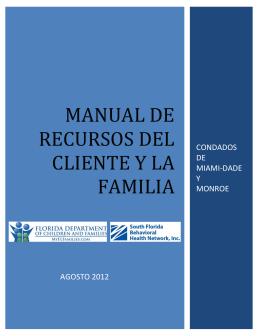 manual de recursos del cliente y la familia