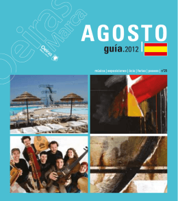 AGOSTO - Câmara Municipal de Oeiras