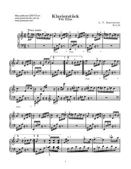Para Elisa - Piano Red