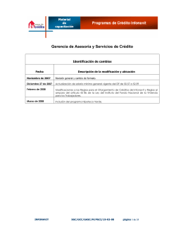 Módulo 1 - Infonavit