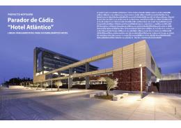 """Parador de Cádiz """"Hotel Atlántico"""""""