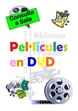 PEL•LÍCULES DE DIBUIXOS - Ajuntament de Canet de Mar