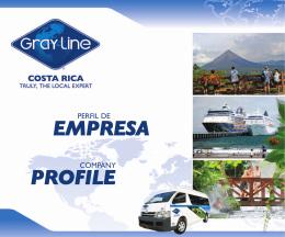 EMPRESA PROFILE - Gray Line Costa Rica
