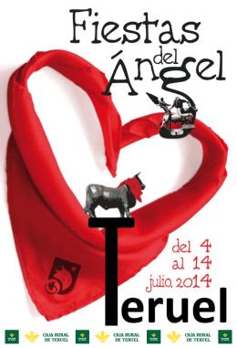 Programa de La Vaquilla 2014 - Fiestas del Ángel de Teruel