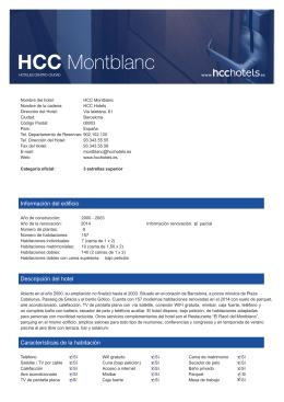 HCC Montblanc
