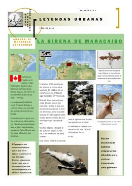 LA SIRENA DE MARACAIBO - Leyendas urbanas y fábulas