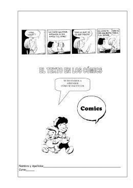 El cómic - Actiludis