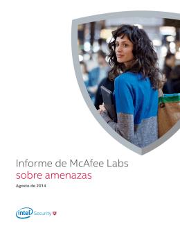 Informe de McAfee Labs sobre amenazas