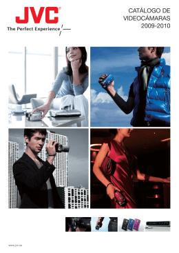 CATÁLOGO DE VIDEOCÁMARAS 2009-2010