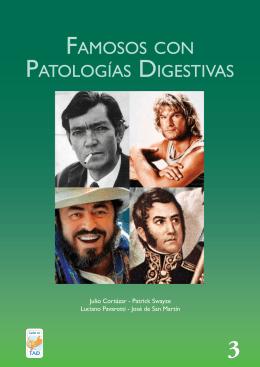 FAMOSOS CON PATOLOGíAS DIGESTIVAS