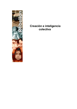 Creación e inteligencia colectiva