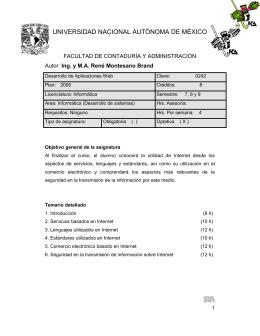 Desarrollo de Aplicaciones Web - IPv6 México