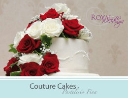 Couture Cakes - Real Resorts