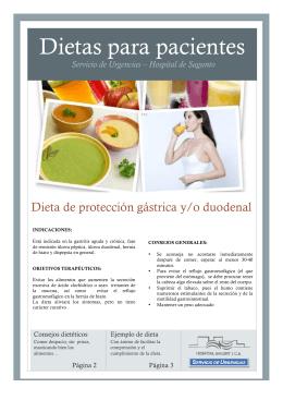 Dietas para pacientes