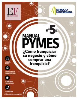 Manual Pyme#5: Cómo franquiciar su negocio y