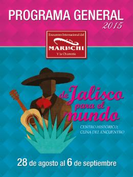 el programa - 11º Encuentro Internacional del Mariachi y la Charrería