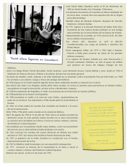 Siqueiros en Lecumberri - Archivo General de la Nación