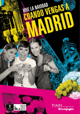 La Navidad es un periodo perfecto para ir a Madrid, en pareja, con