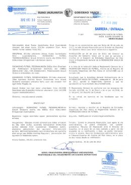 reglamento general eff-fvf - Federación Vasca de Fútbol