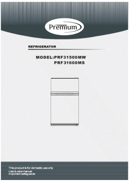 MODEL:PRF31500MW PRF31600MS