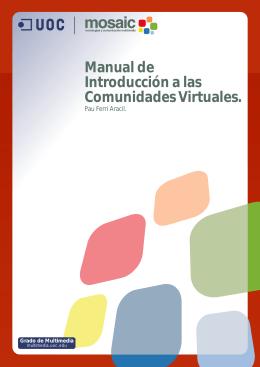 Manual de Introducción a las Comunidades Virtuales.