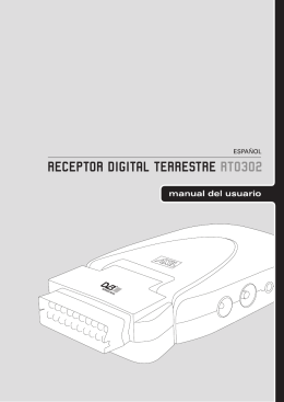 Manual Receptor Digital Terrestre Axil RT0302