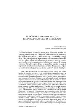 EL DÓMINE CABRA DEL BUSCÓN