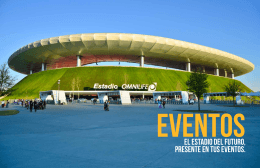 BOOK EVENTOS - Estadio Omnilife