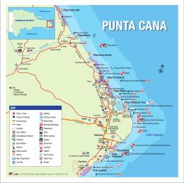 PUNTA CANA MAP 8X8 SIN HOTELES ENGLISH 20