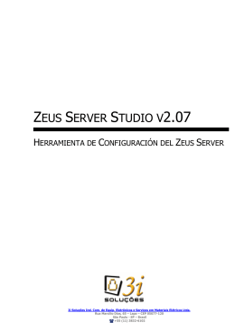 ZEUS SERVER STUDIO V2.07