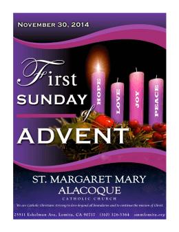 HOPE LOVE JOY PE ACE - St. Margaret Mary Alacoque Catholic