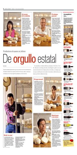 Productores de queso en Jalisco