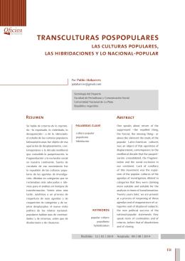 Imprima este artículo - Facultad de Periodismo y Comunicación