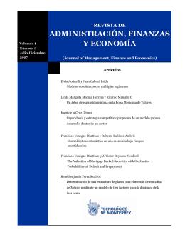 administración, finanzas y economía