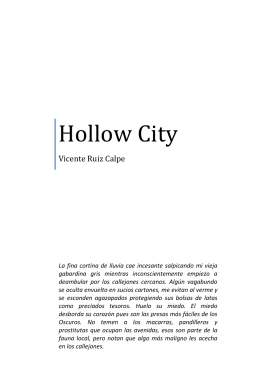 los oscuros - Hollow City