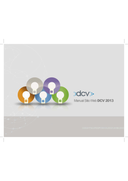 dcv`s communications web site manual