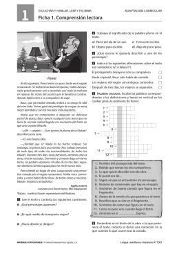 Ficha 1. Comprensión lectora - Institut Guinovarda. Gestin. Control