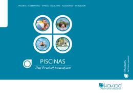 PISCINAS - COBERTORES - TAPICES