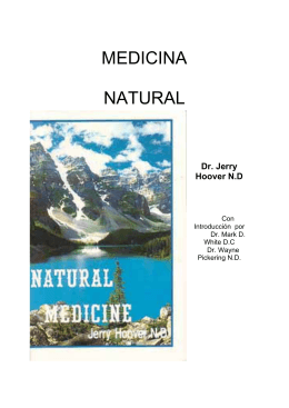 PDF MEDICINA NATURAL - A Natural Cure for Cancer