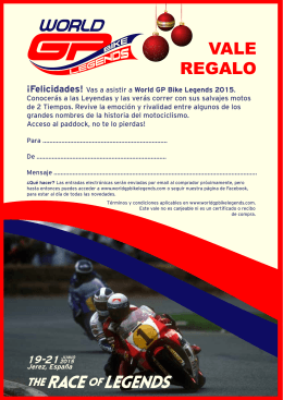 gift-cert v3 spanish - World GP Bike Legends