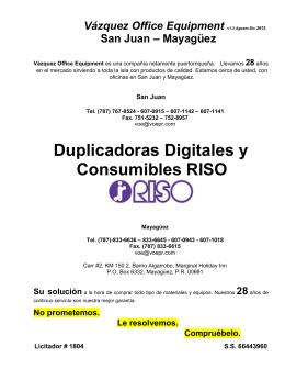 Haga click para bajar el catalogo de duplicadoras digitales RISO