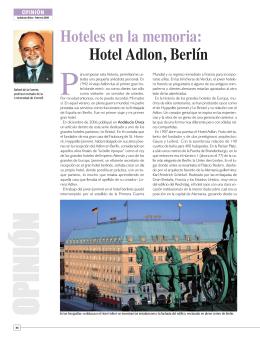 Hotel Adlon, Berlín