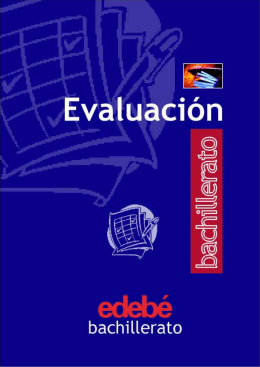Actividades - Evaluación