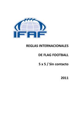 Reglas de Flag Football
