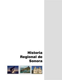Historia Regional de Sonora - Colegio de Bachilleres del Estado de