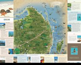 Mapa Guia Quintana Roo Cancún